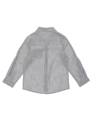 Panço Uzun Kollu Gömlek 19112061100 Gri